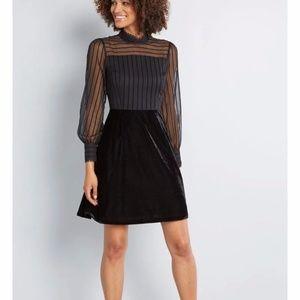 Dress, Black Dress, Little Black Dress, Halloween